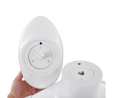 "vidaXL Full Body Male Mannequin with Glass Base Glossy White 72.8""[9/9]"