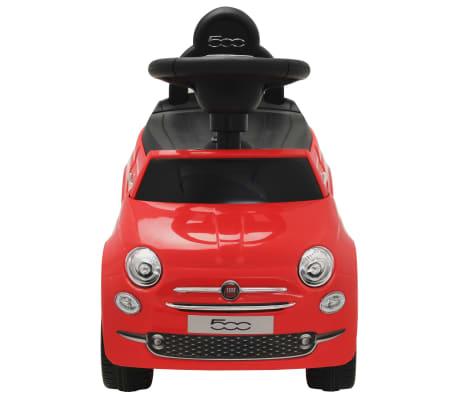 vidaXL Coche correpasillos Fiat 500 rojo[2/10]