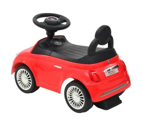 vidaXL Coche correpasillos Fiat 500 rojo[3/10]