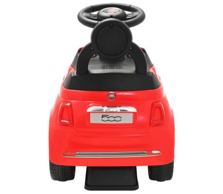 vidaXL Coche correpasillos Fiat 500 rojo[4/10]