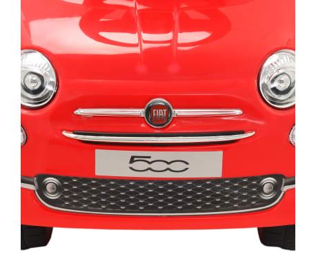 vidaXL Coche correpasillos Fiat 500 rojo[6/10]