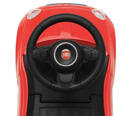 vidaXL Vaikiškas automobilis Fiat 500, raudonas[7/10]