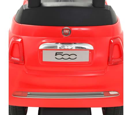 vidaXL Vaikiškas automobilis Fiat 500, raudonas[9/10]