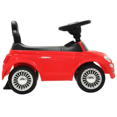 vidaXL Coche correpasillos Fiat 500 rojo[5/10]