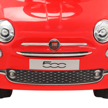 vidaXL Vaikiškas automobilis Fiat 500, raudonas[6/10]