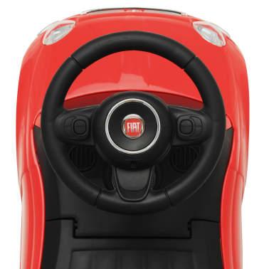 vidaXL Coche correpasillos Fiat 500 rojo[7/10]