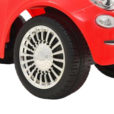 vidaXL Coche correpasillos Fiat 500 rojo[8/10]