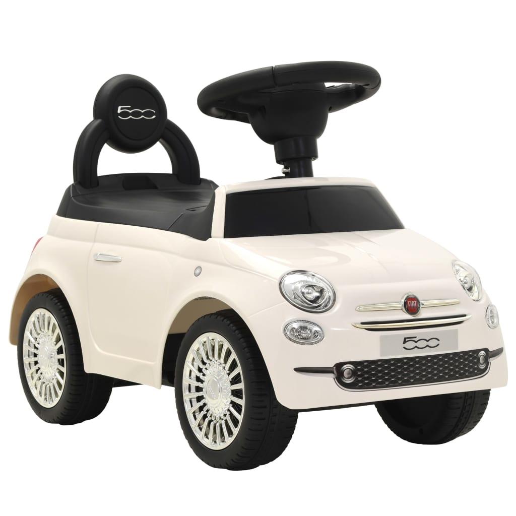 Dětské autíčko Fiat 500 bílé