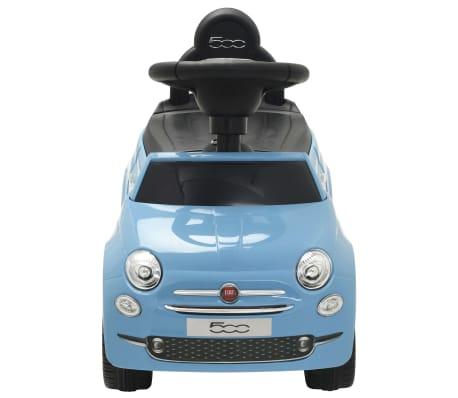 vidaXL Vaikiškas automobilis Fiat 500, mėlynas[2/10]