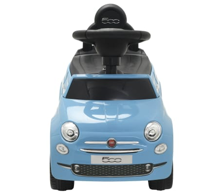 Vidaxl Ride On Car Fiat 500 Blue Vidaxl Co Uk