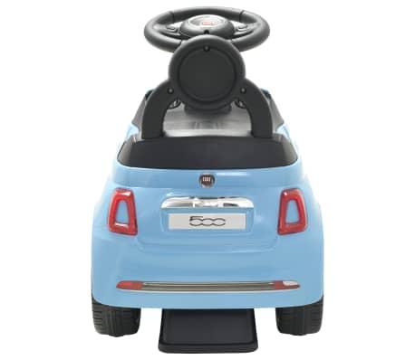 vidaXL Vaikiškas automobilis Fiat 500, mėlynas[4/10]