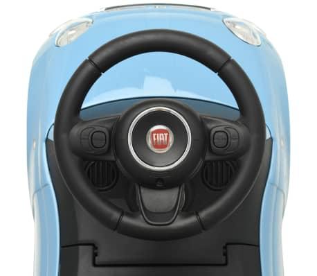 vidaXL Coche correpasillos Fiat 500 azul[7/10]