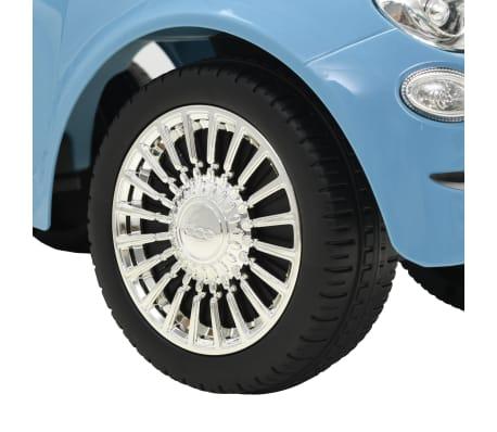 vidaXL Coche correpasillos Fiat 500 azul[8/10]
