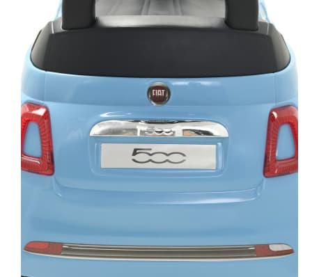 vidaXL Vaikiškas automobilis Fiat 500, mėlynas[9/10]
