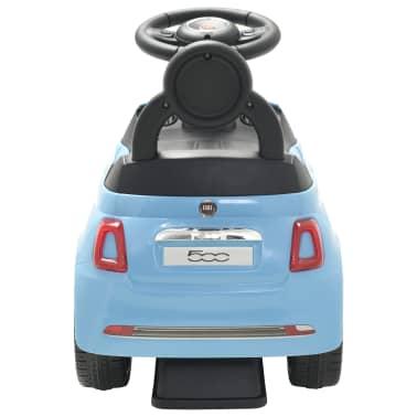 vidaXL Coche correpasillos Fiat 500 azul[4/10]