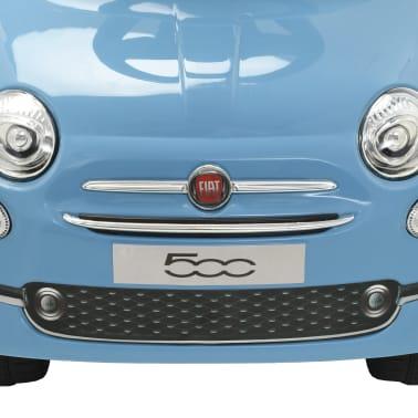 vidaXL Coche correpasillos Fiat 500 azul[6/10]