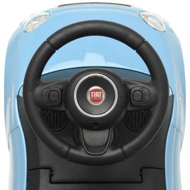 vidaXL Vaikiškas automobilis Fiat 500, mėlynas[7/10]