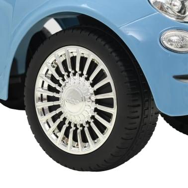 vidaXL Vaikiškas automobilis Fiat 500, mėlynas[8/10]
