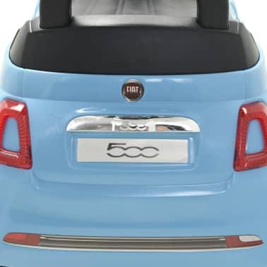 vidaXL Coche correpasillos Fiat 500 azul[9/10]