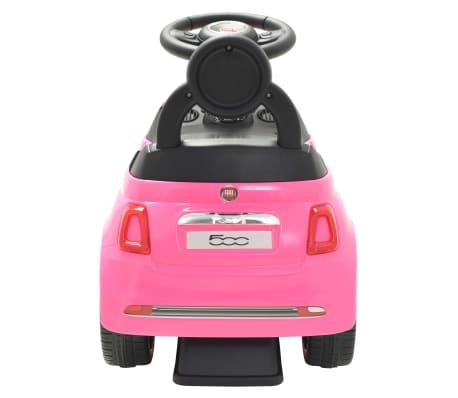 vidaXL Vaikiškas automobilis Fiat 500, rožinis[4/10]