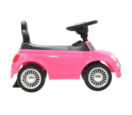 vidaXL Vaikiškas automobilis Fiat 500, rožinis[5/10]