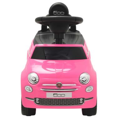 vidaXL Vaikiškas automobilis Fiat 500, rožinis[2/10]