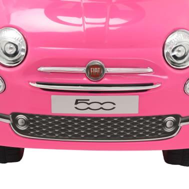 vidaXL Vaikiškas automobilis Fiat 500, rožinis[6/10]