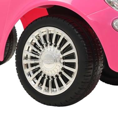 vidaXL Vaikiškas automobilis Fiat 500, rožinis[8/10]