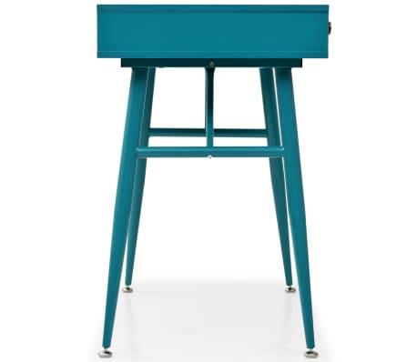 vidaXL Rašomasis stalas su stalčiumi, 90x50x76,5cm, vintaž. žalia sp.[4/9]