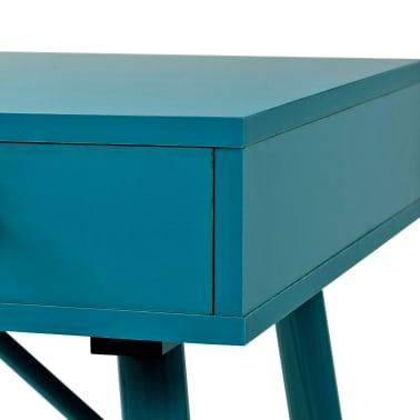 vidaXL Rašomasis stalas su stalčiumi, 90x50x76,5cm, vintaž. žalia sp.[5/9]