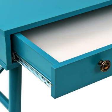 vidaXL Rašomasis stalas su stalčiumi, 90x50x76,5cm, vintaž. žalia sp.[7/9]