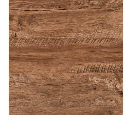 vidaXL Schrijftafel met lade 110x55x75 cm eikenkleur[6/8]