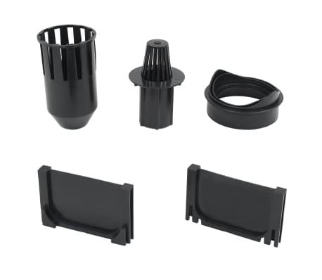 vidaXL Canales de drenaje 3 unidades acero galvanizado 3 m[5/5]