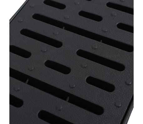 vidaXL Canales de drenaje 3 unidades plástico 3 m[4/5]