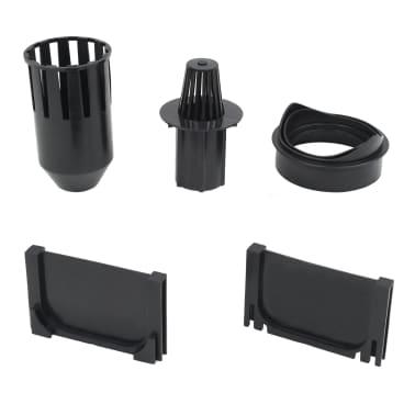 vidaXL Canales de drenaje 3 unidades plástico 3 m[5/5]