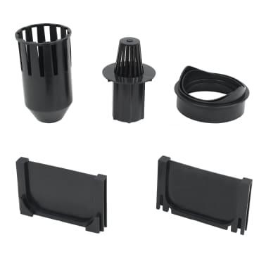 vidaXL Canales de drenaje 6 unidades plástico 6 m[5/5]