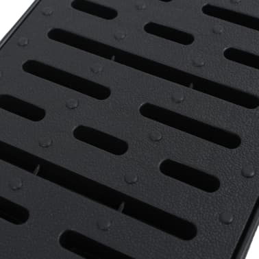 vidaXL Canales de drenaje 12 unidades plástico 12 m[4/5]