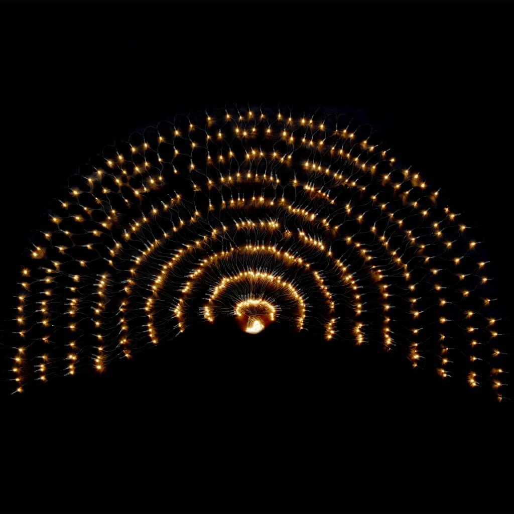 VidaXL - vidaXL LED-netverlichting voor binnen en buiten IP44 230x110 cm