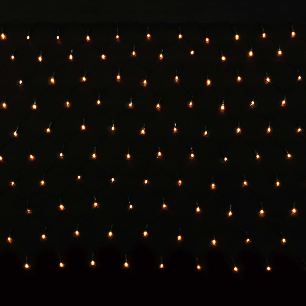 vidaXL LED světelná síť vnitřní i venkovní použití IP44 230 x 110 cm