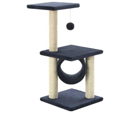 vidaXL Ansamblu pisici, stâlpi din funie sisal, 65 cm, bleumarin[2/5]