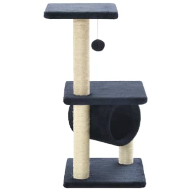 vidaXL Ansamblu pisici, stâlpi din funie sisal, 65 cm, bleumarin[3/5]
