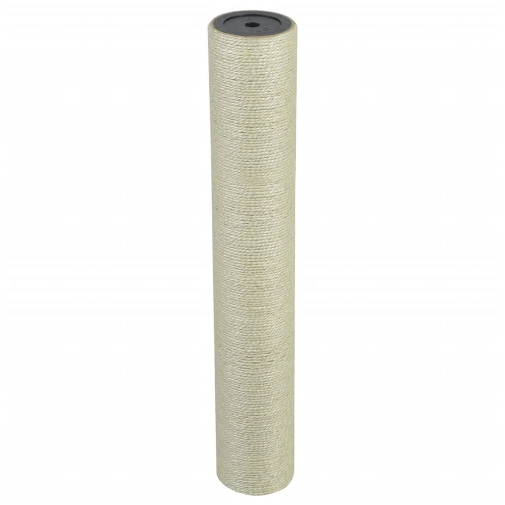 vidaXL Kattenkrabpaal 8x50 cm 10 mm beige