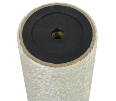 vidaXL Mačji praskalnik 8x50 cm 10 mm bež[2/2]