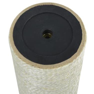 vidaXL Mačji praskalnik 8x35 cm 8 mm bež[2/2]