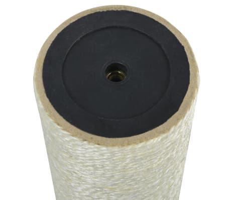 vidaXL Ansamblu de joacă pentru pisici 8x45 cm, 8 mm Bej[2/2]