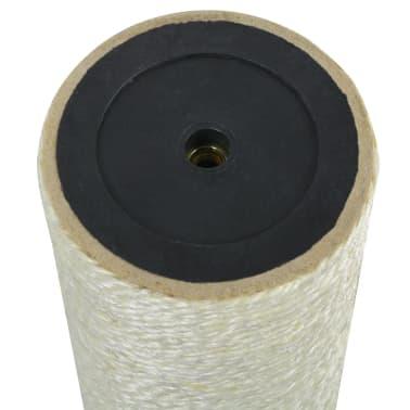 vidaXL Katzen-Kratzbaum 8x50 cm 8 mm Beige[2/2]