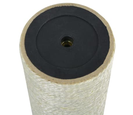 vidaXL Mačji praskalnik 8x55 cm 8 mm bež[2/2]
