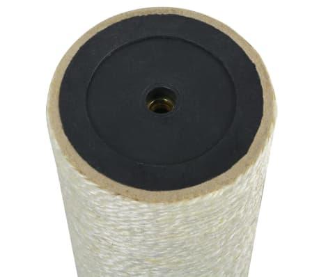 vidaXL Mačji praskalnik 8x60 cm 8 mm bež[2/2]