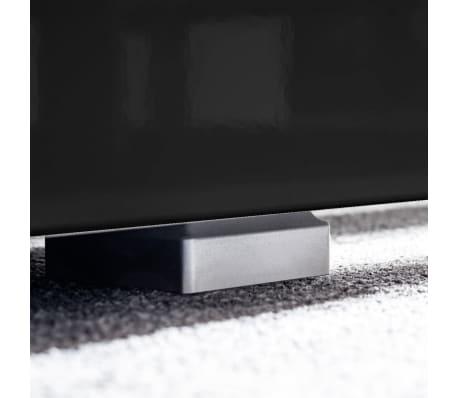 163cdb534ec24 vidaXL Obývacia stena 5-dielna s LED osvetlením, vysoko-lesklá, čierna[