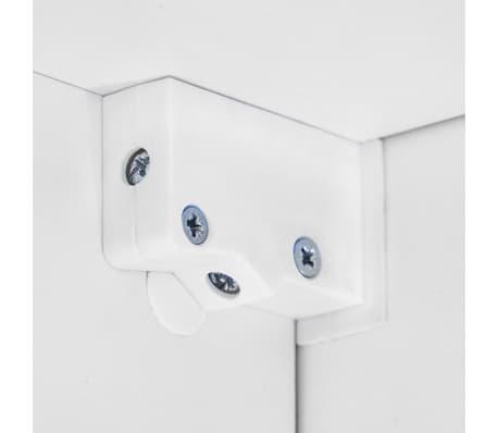 vidaXL TV-møbelsæt i 8 dele med LED-lys højglans hvid[14/16]